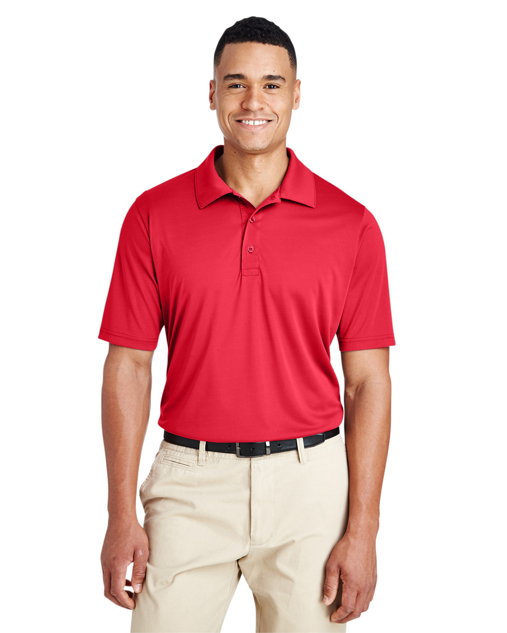 Sport Red - TT51 Team 365 Men's Zone Performance Polo