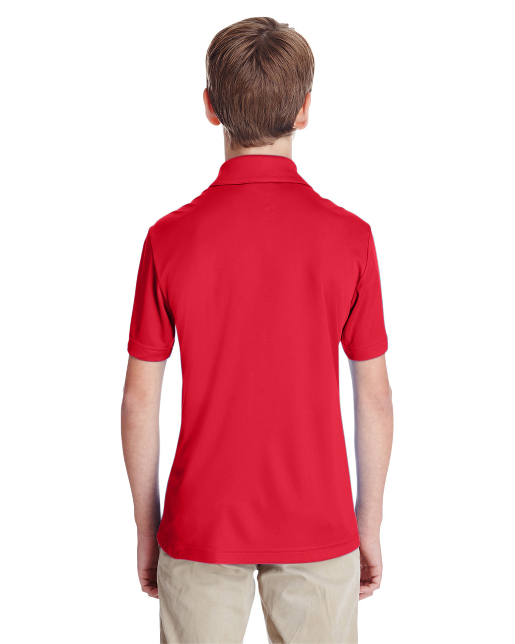Sport Red - TT51Y Team 365 Youth Zone Performance Polo Shirt