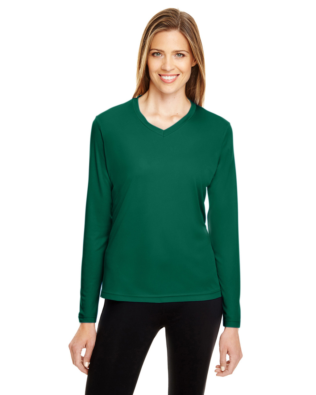 Sport Forest - TT11WL Team 365 Ladies' Zone Performance Long-Sleeve T-Shirt