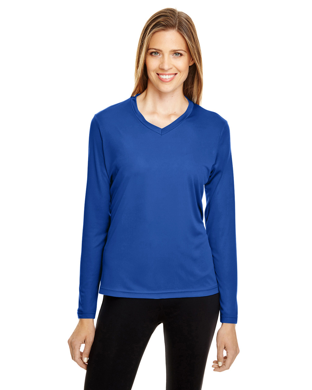 Sport Royal - TT11WL Team 365 Ladies' Zone Performance Long-Sleeve T-Shirt