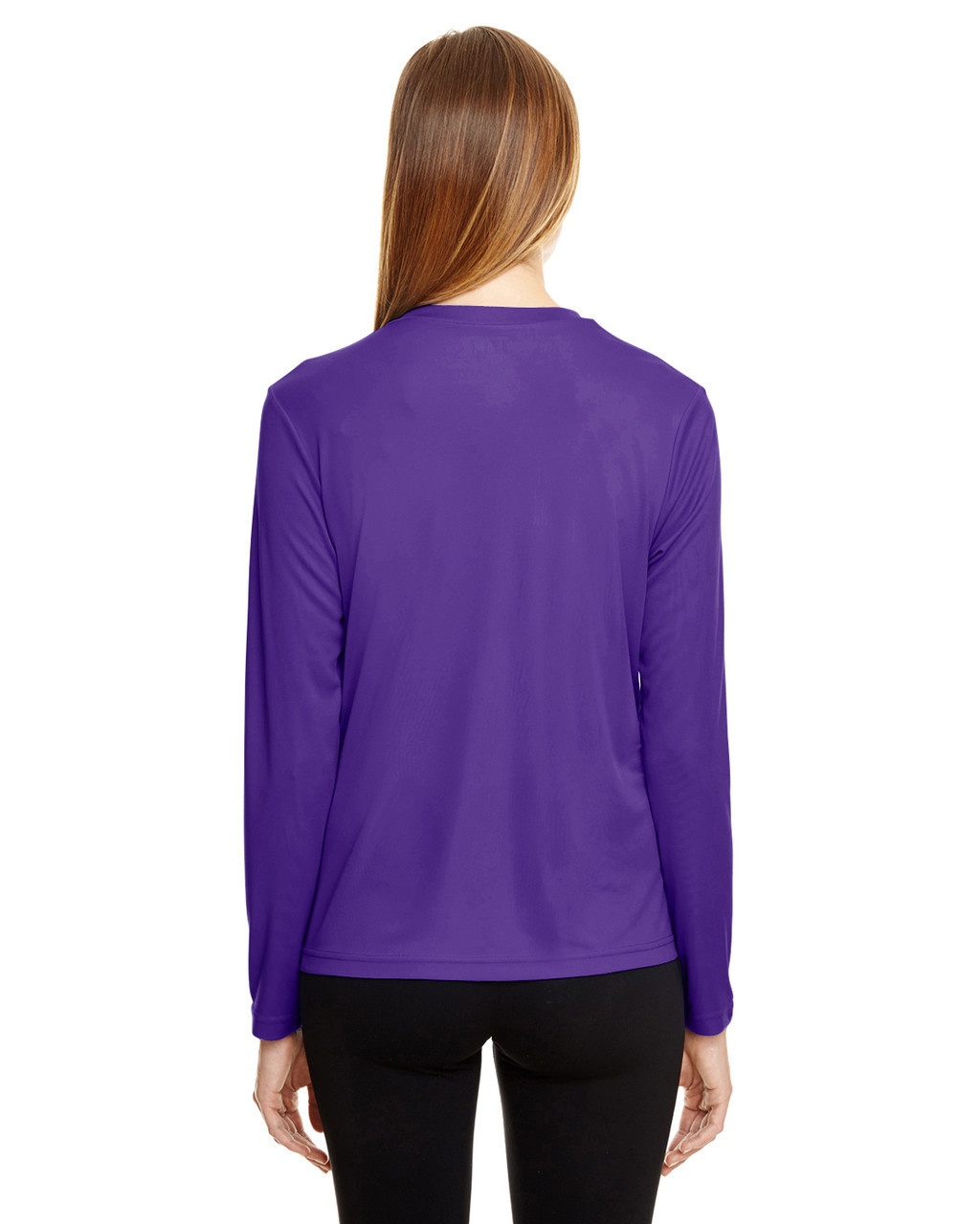 Sport Purple - TT11WL Team 365 Ladies' Zone Performance Long-Sleeve T-Shirt