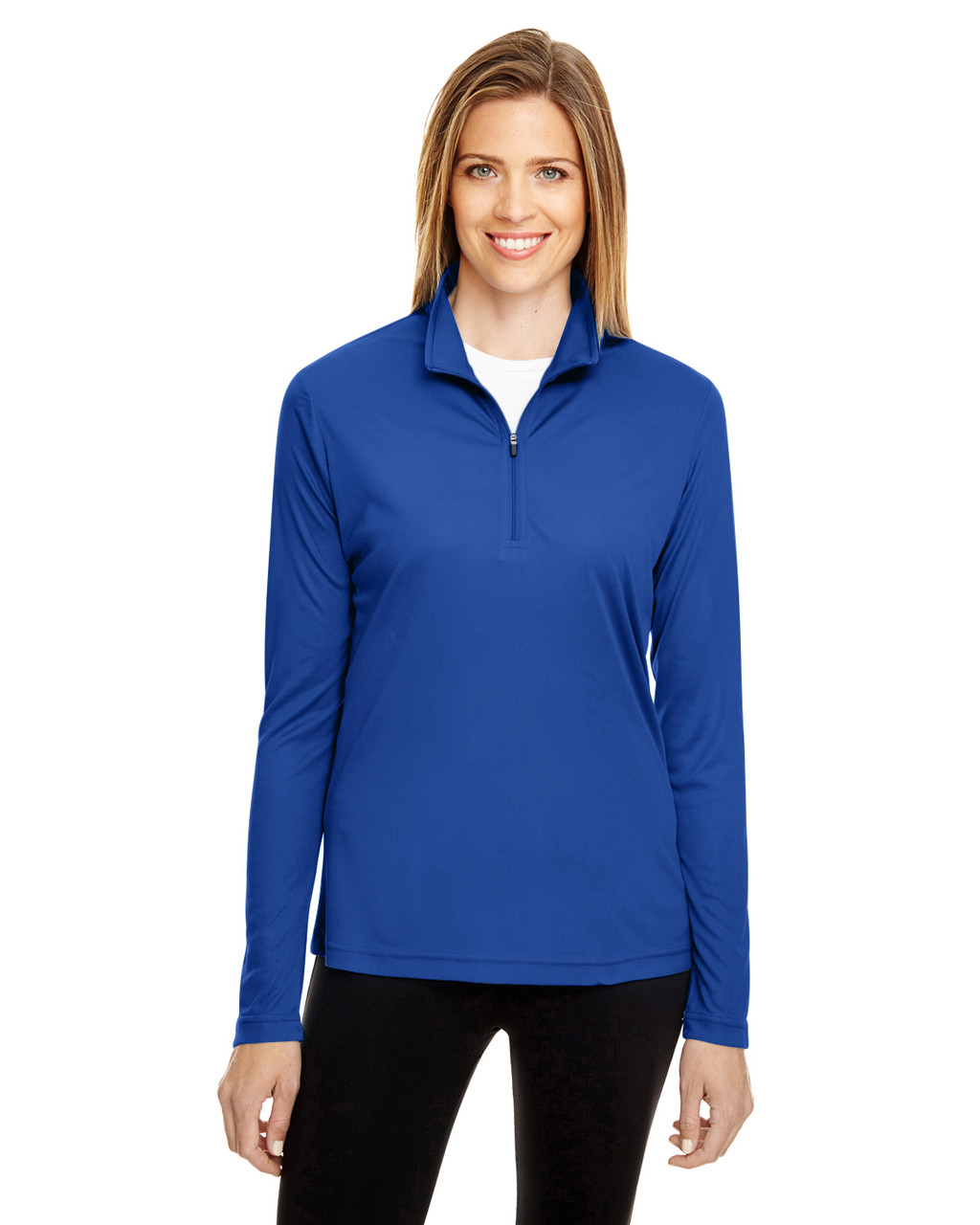 Sport Royal - TT31W Team 365 Ladies' Zone Performance Quarter-Zip Shirt