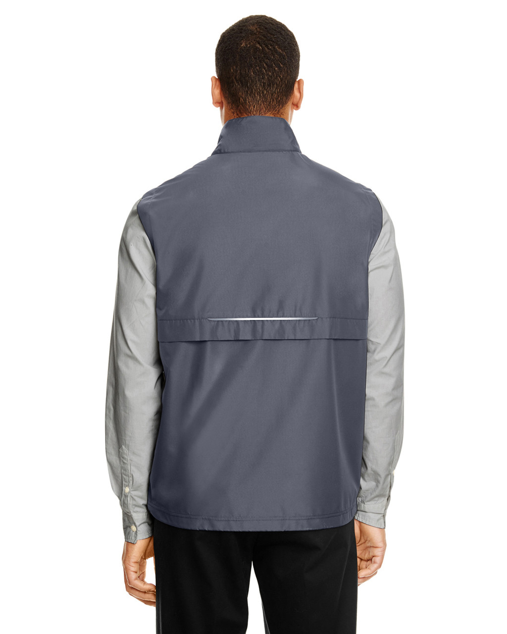 Carbon - CE703 Ash City - Core 365 Men's Techno Lite Unlined Vest | Blankclothing.ca