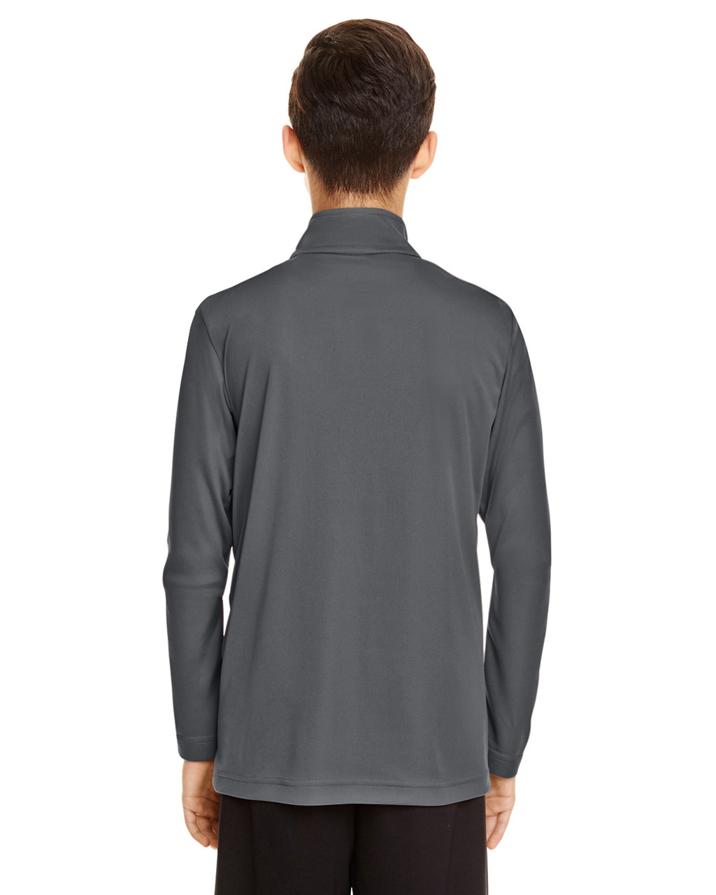 Sport Graphite - TT31Y Team 365 Youth Zone Performance Quarter-Zip Shirt