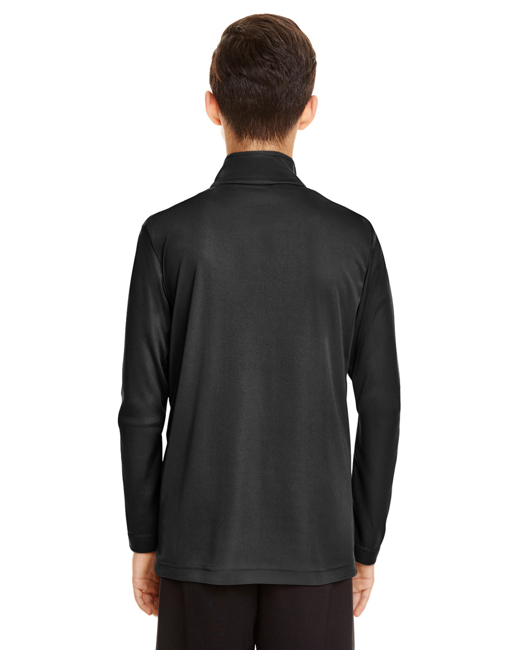 Black - TT31Y Team 365 Youth Zone Performance Quarter-Zip