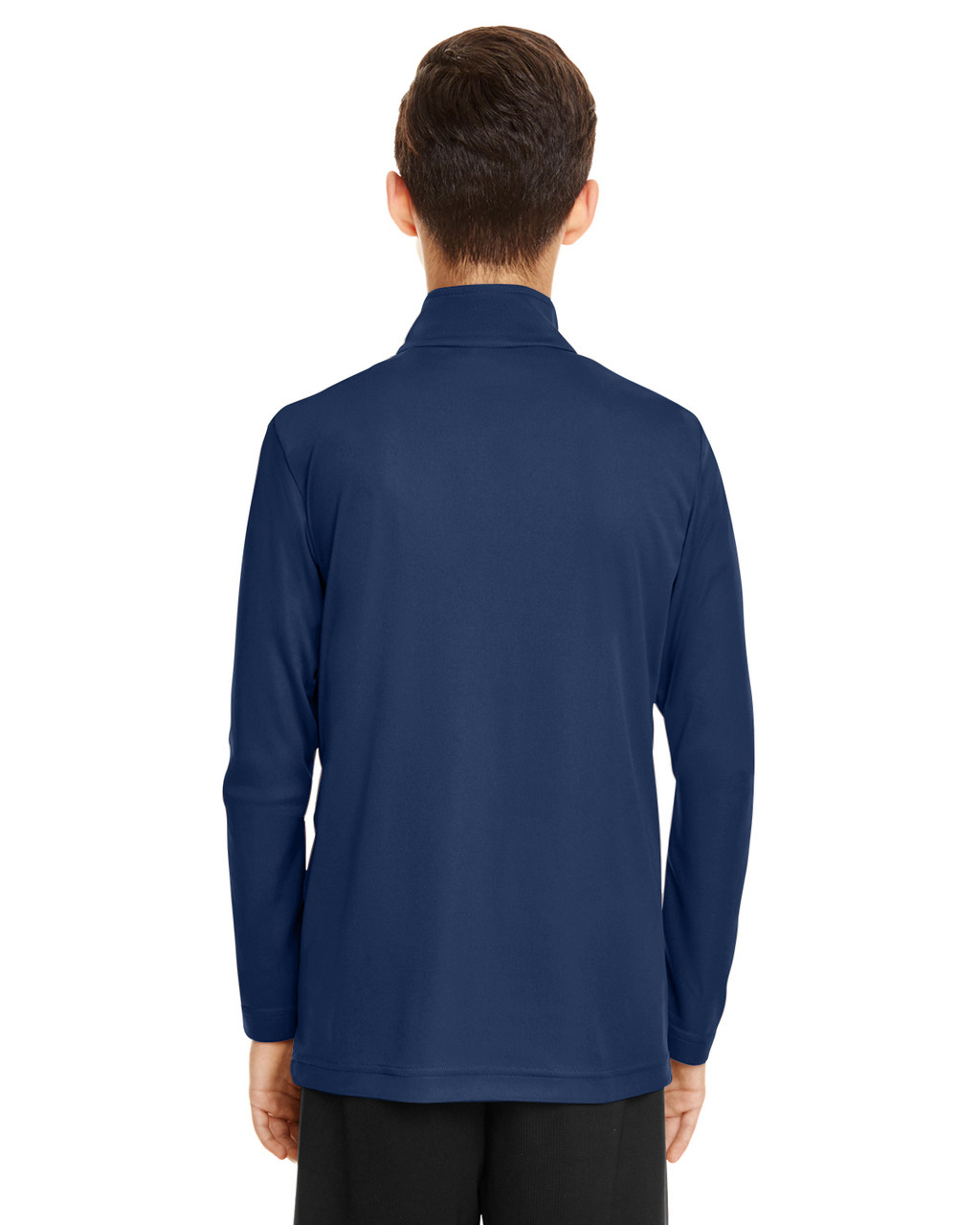 Sport Dark Navy - TT31Y Team 365 Youth Zone Performance Quarter-Zip Shirt