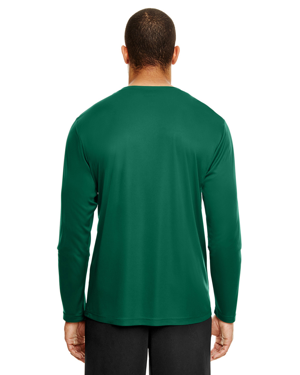 Sport Forest, Back - TT11L Team 365 Men's Zone Performance Long Sleeve T-Shirt | BlankClothing.ca
