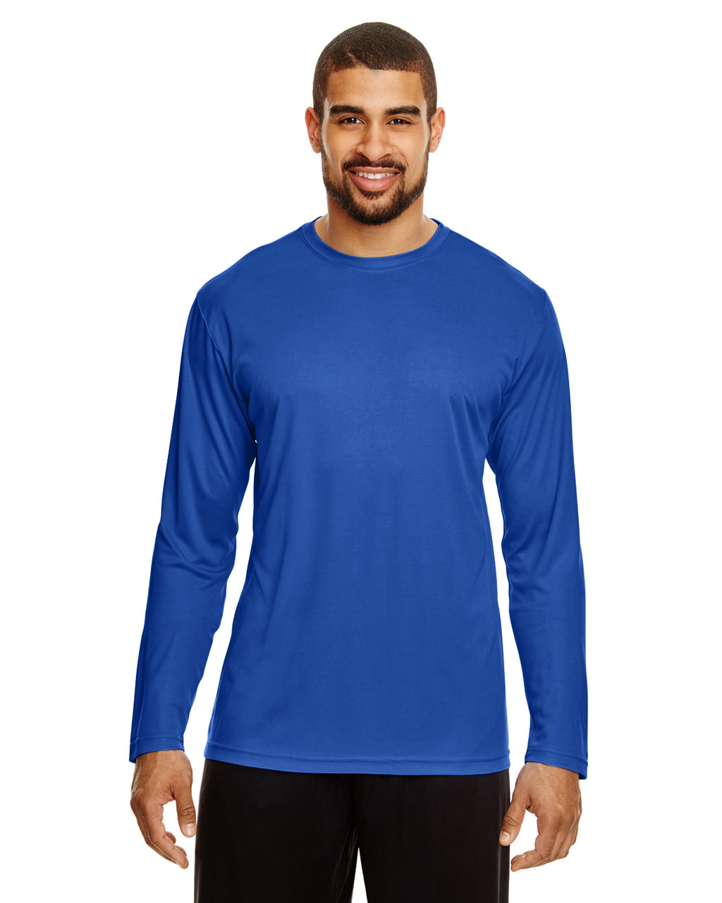 Sport Royal - TT11L Team 365 Men's Zone Performance Long Sleeve T-Shirt | BlankClothing.ca