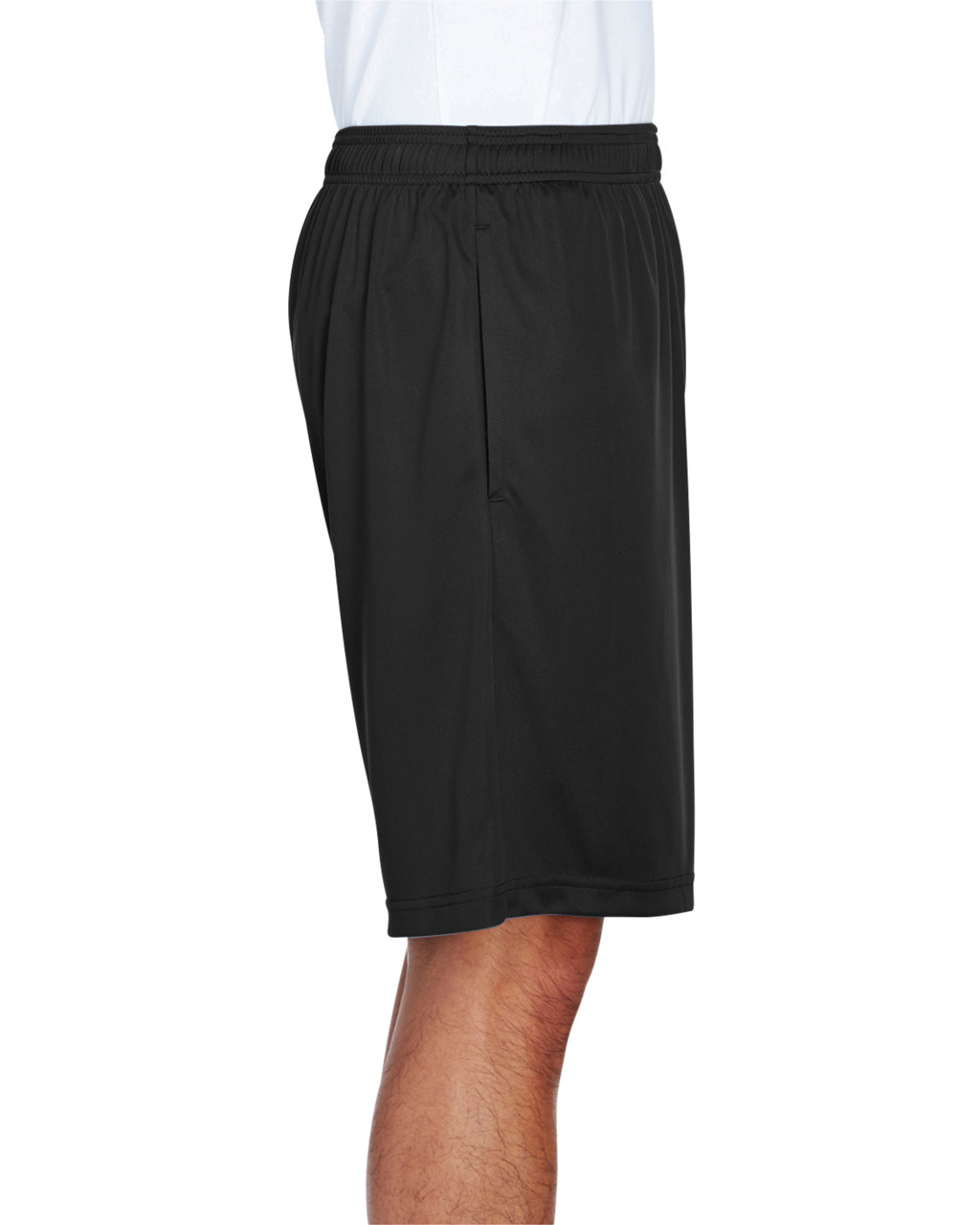 Black - Side, TT11SH Team 365 Men's Zone Performance Short | BlankClothing.ca