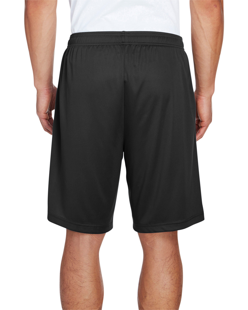 Black - Back, TT11SH Team 365 Men's Zone Performance Short | BlankClothing.ca