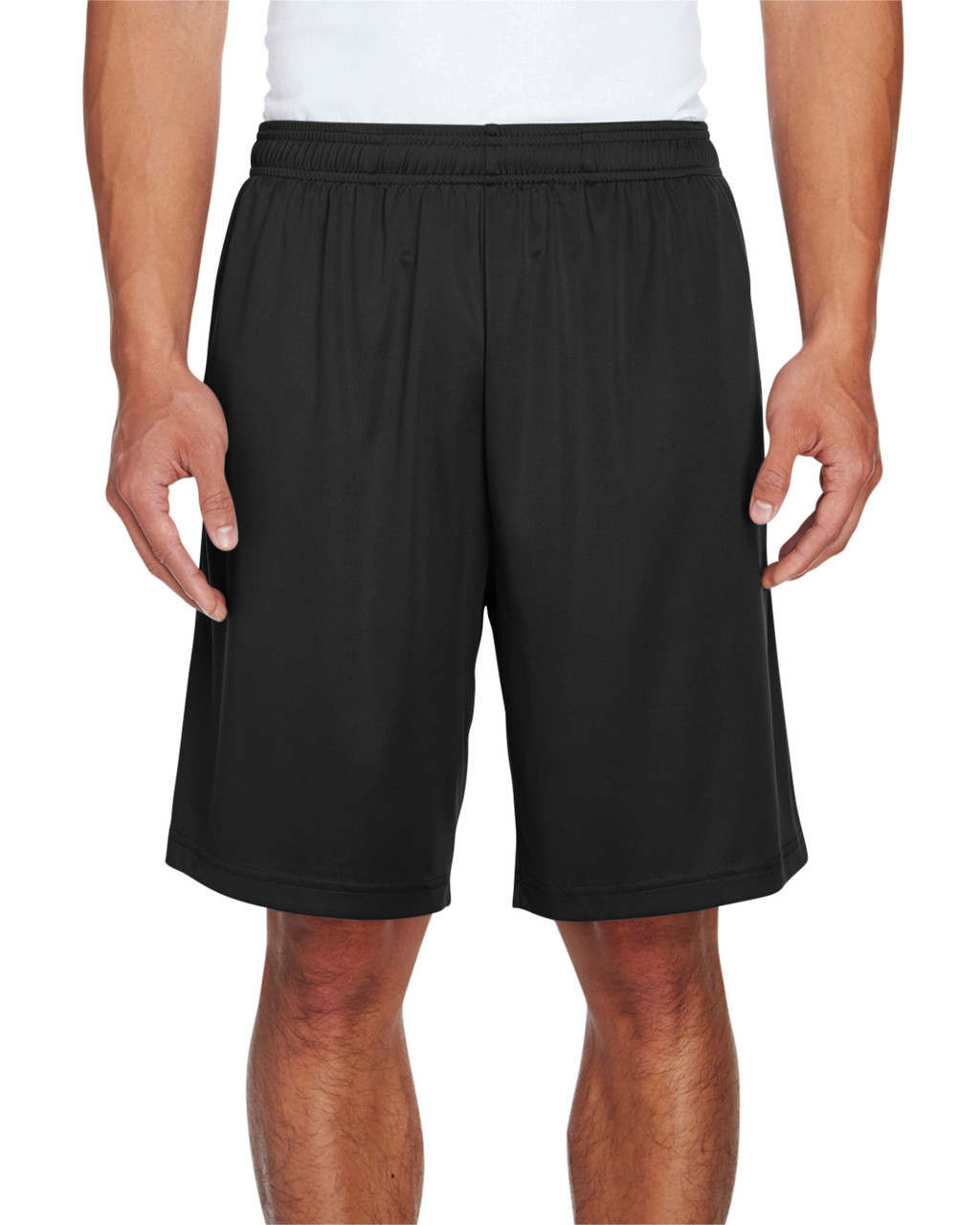 Black - TT11SH Team 365 Men's Zone Performance Short | BlankClothing.ca