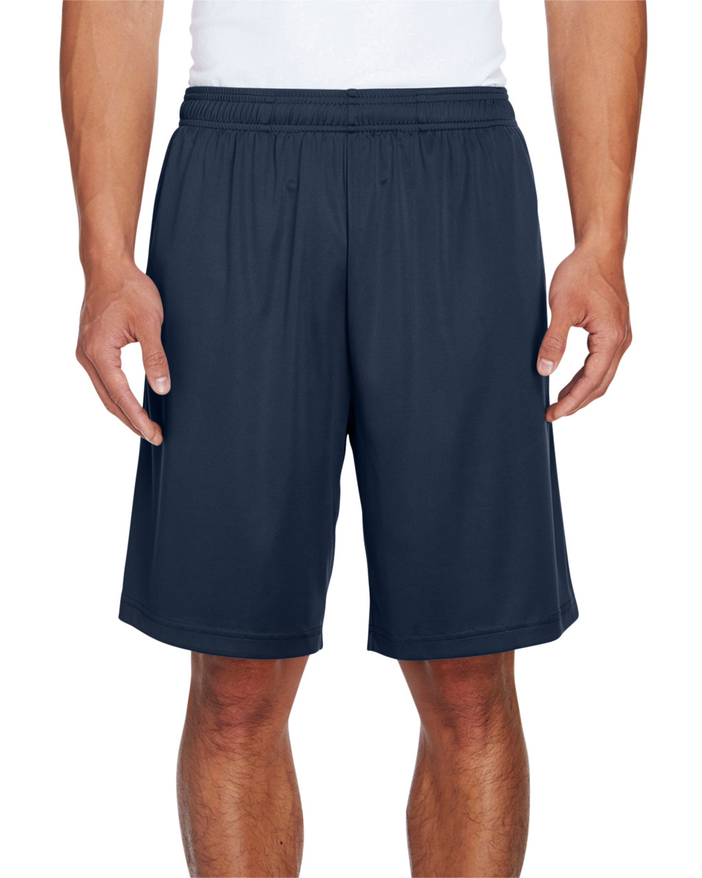 Sport Dark Navy - TT11SH Team 365 Men's Zone Performance Short | BlankClothing.ca
