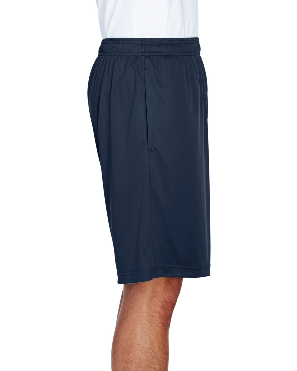 Sport Dark Navy - Side, TT11SH Team 365 Men's Zone Performance Short | BlankClothing.ca