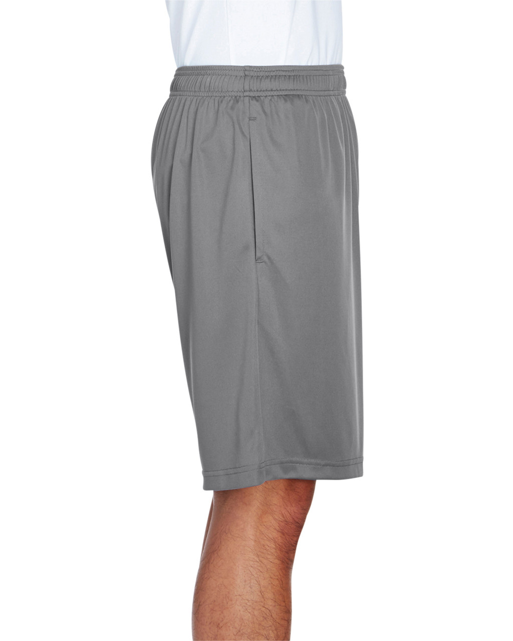 Sport Graphite -  Side, TT11SH Team 365 Men's Zone Performance Short | BlankClothing.ca