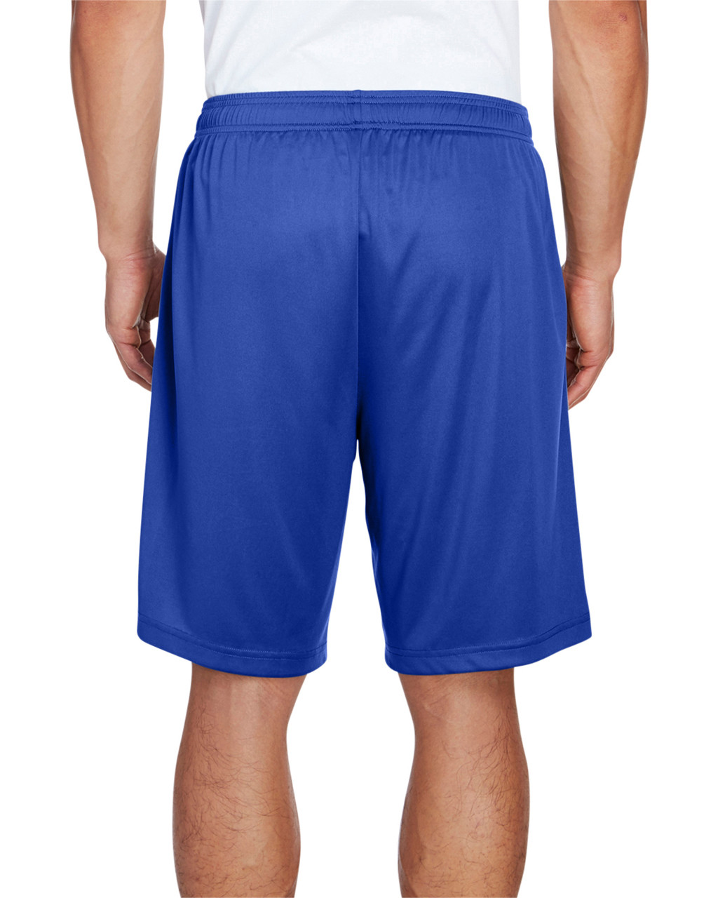 Sport Royal - Back, TT11SH Team 365 Men's Zone Performance Short | BlankClothing.ca