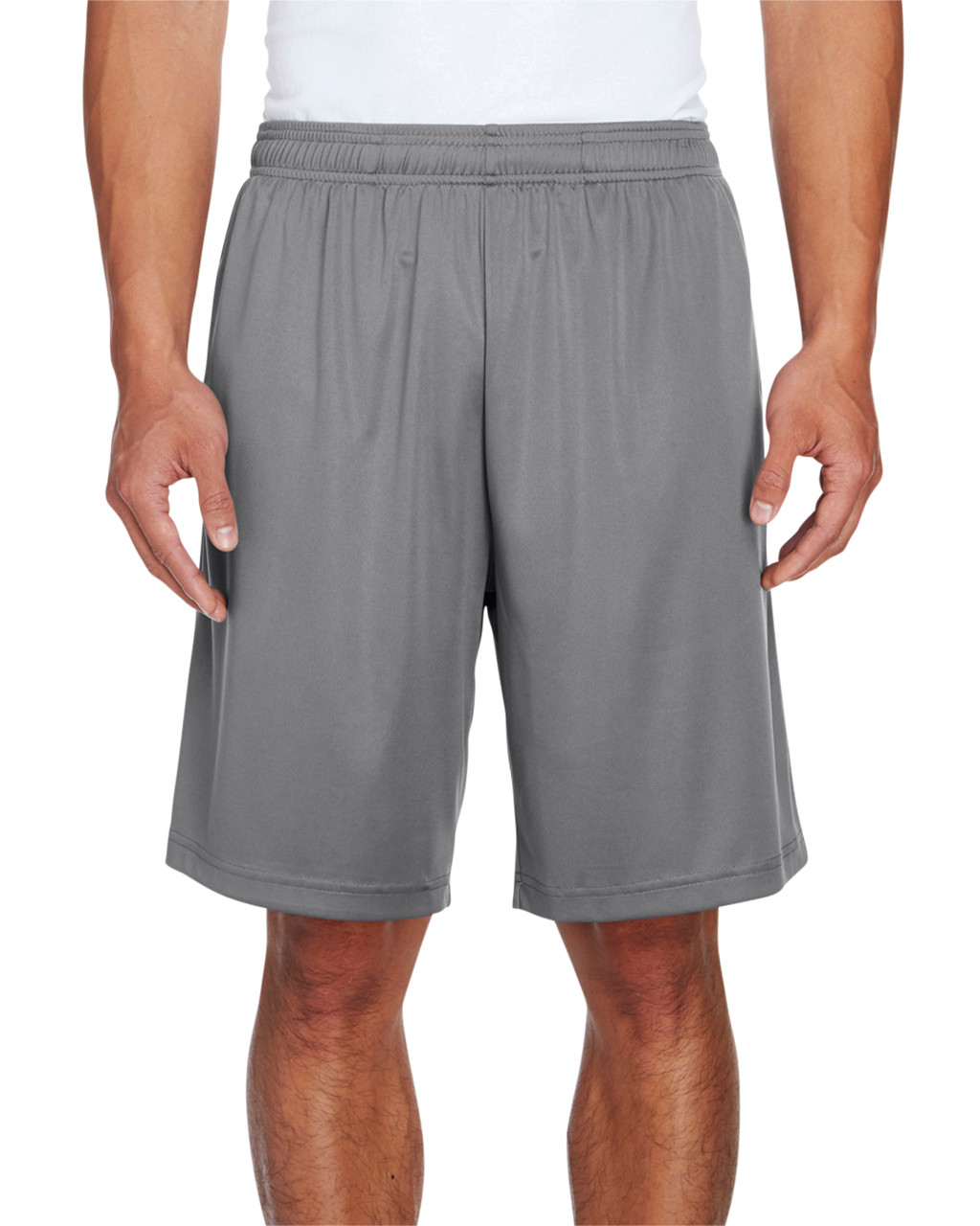 Sport Graphite - TT11SH Team 365 Men's Zone Performance Short | BlankClothing.ca