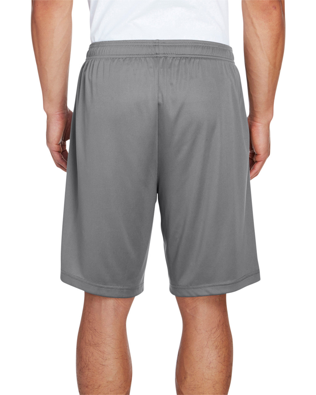 Sport Graphite - Back, TT11SH Team 365 Men's Zone Performance Short | BlankClothing.ca