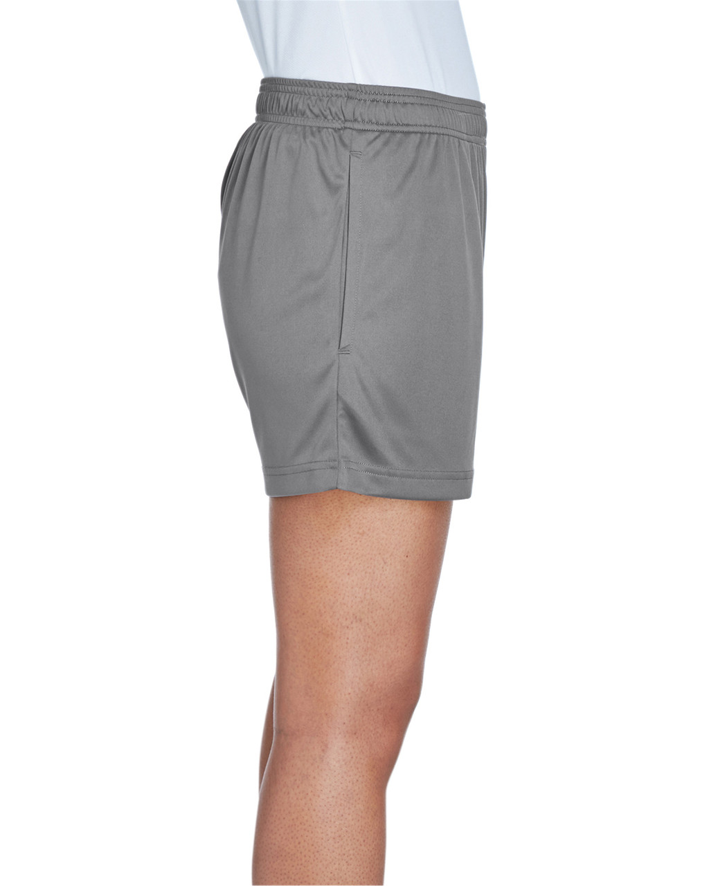 Sport Graphite - Side, TT11SHW Team 365 Ladies' Zone Performance Short | T-shirt.ca