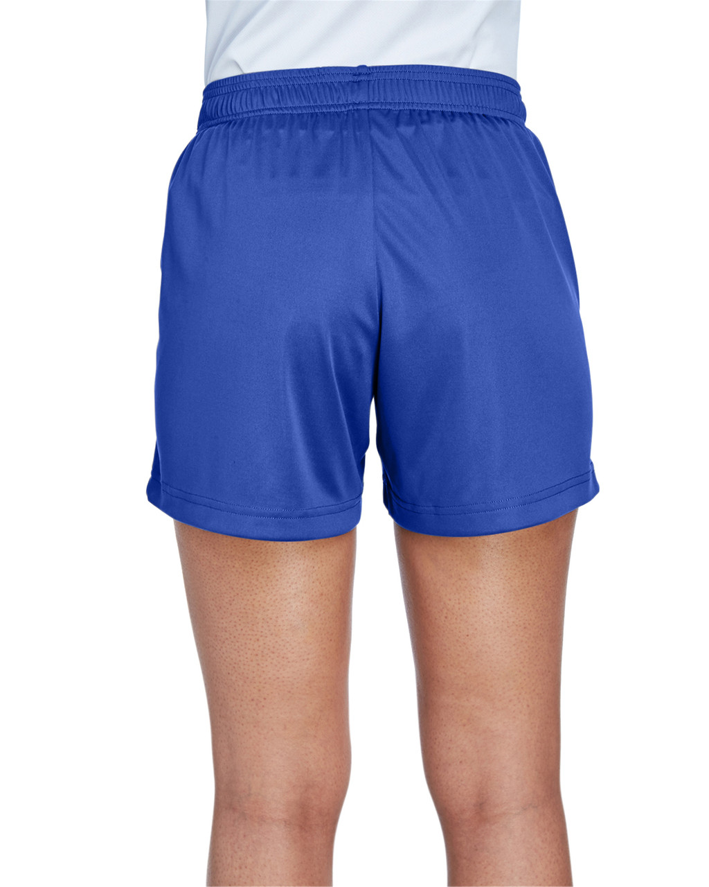 Sport Royal - Back, TT11SHW Team 365 Ladies' Zone Performance Short | T-shirt.ca