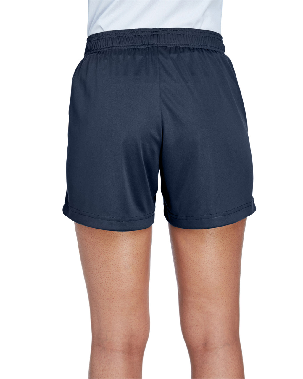 Sport Dark Navy - Back, TT11SHW Team 365 Ladies' Zone Performance Short | T-shirt.ca
