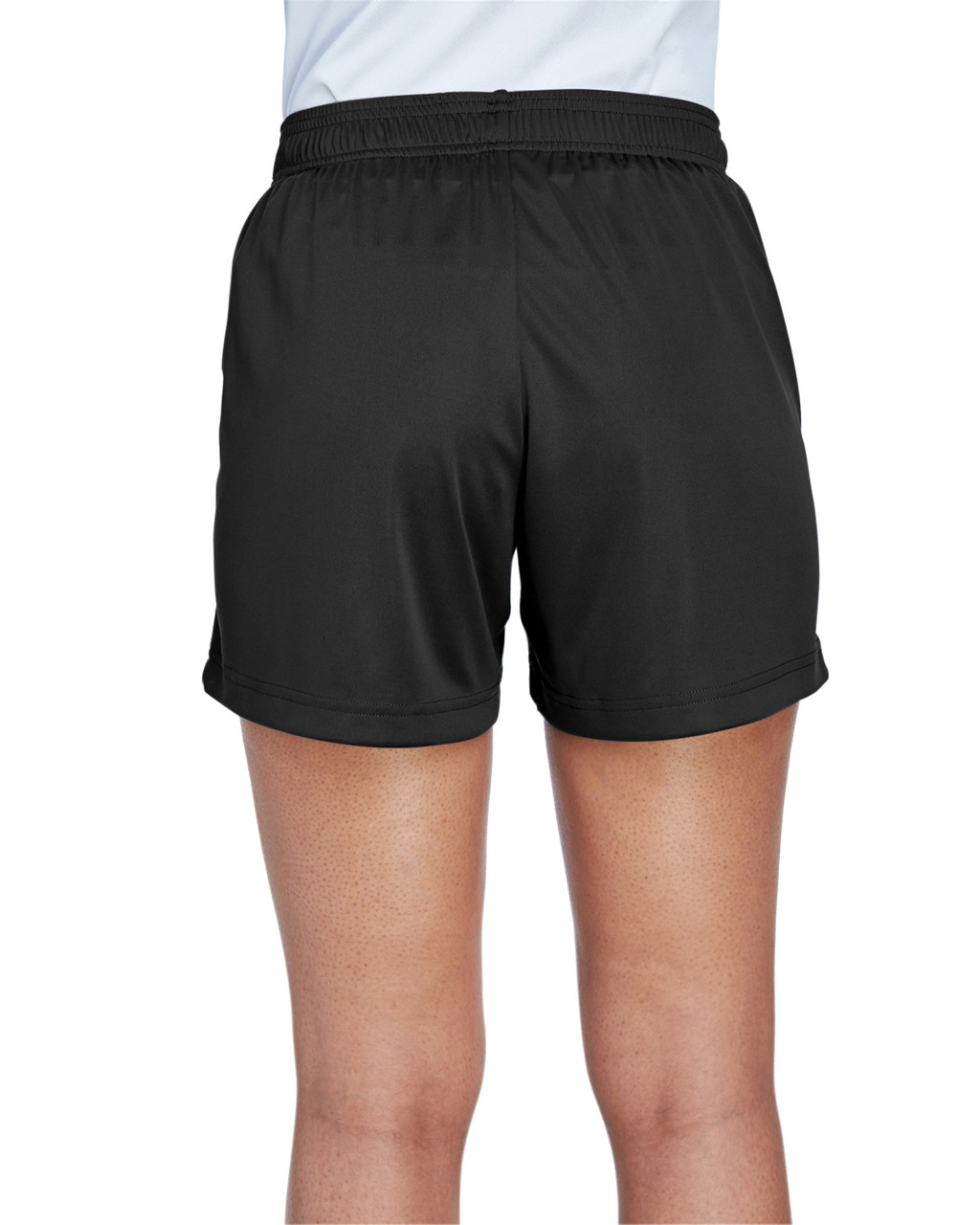 Black - Back, TT11SHW Team 365 Ladies' Zone Performance Short | T-shirt.ca