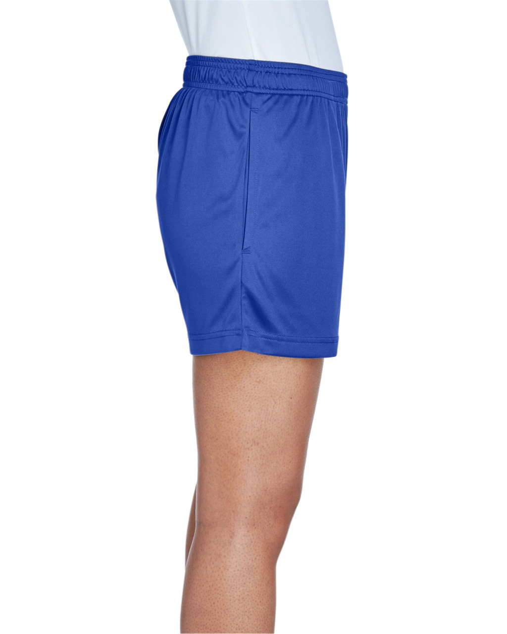 Sport Royal - Side, TT11SHW Team 365 Ladies' Zone Performance Short | T-shirt.ca