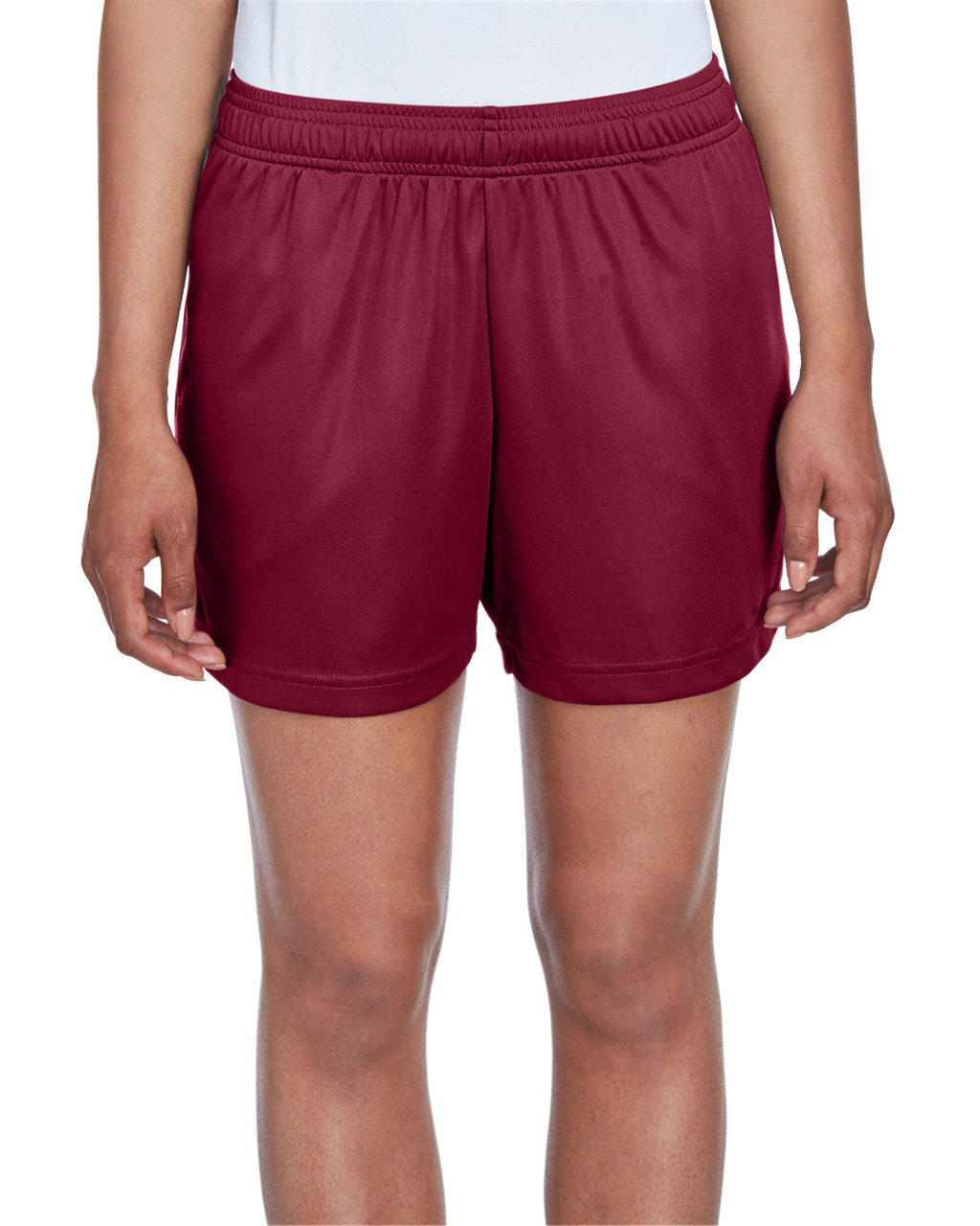 Sport Maroon - TT11SHW Team 365 Ladies' Zone Performance Short | T-shirt.ca