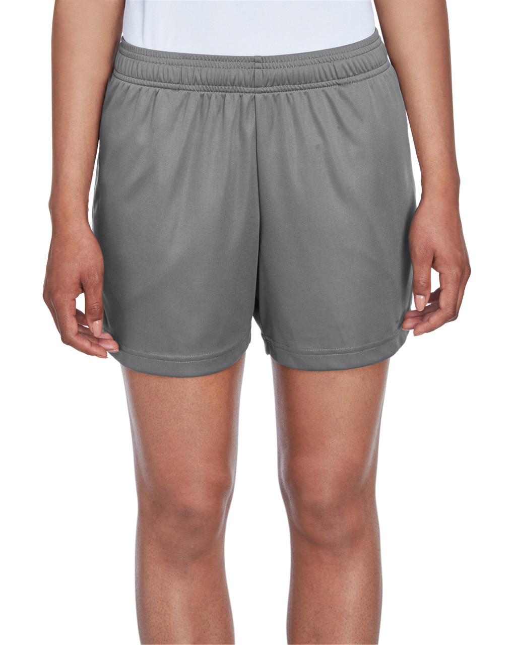 Sport Graphite - TT11SHW Team 365 Ladies' Zone Performance Short | T-shirt.ca