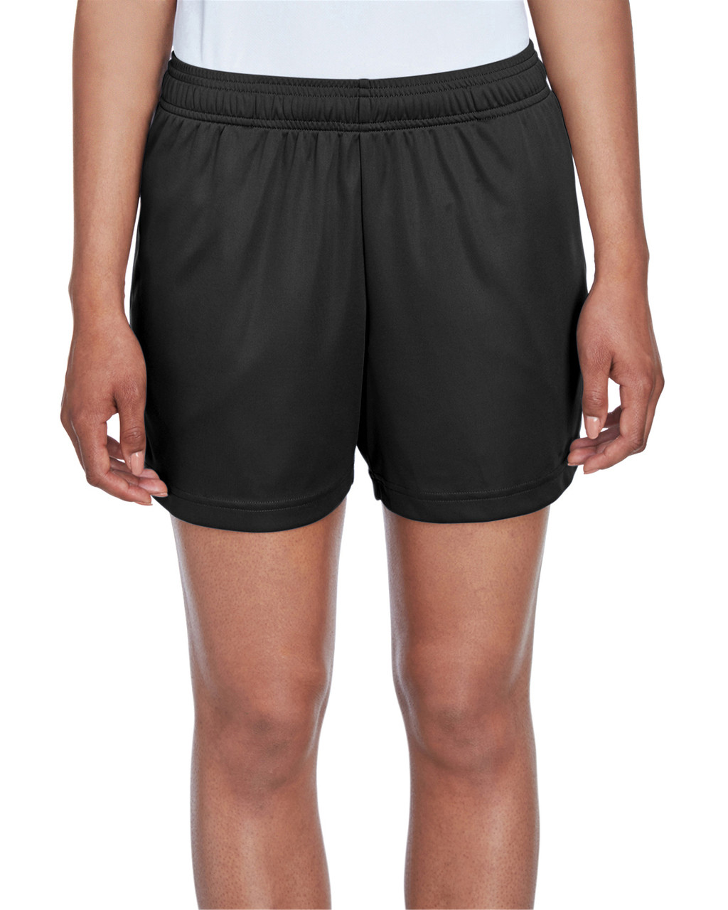 Black - TT11SHW Team 365 Ladies' Zone Performance Short | T-shirt.ca