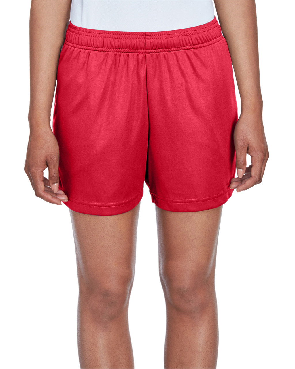 Sport Red - TT11SHW Team 365 Ladies' Zone Performance Short | T-shirt.ca