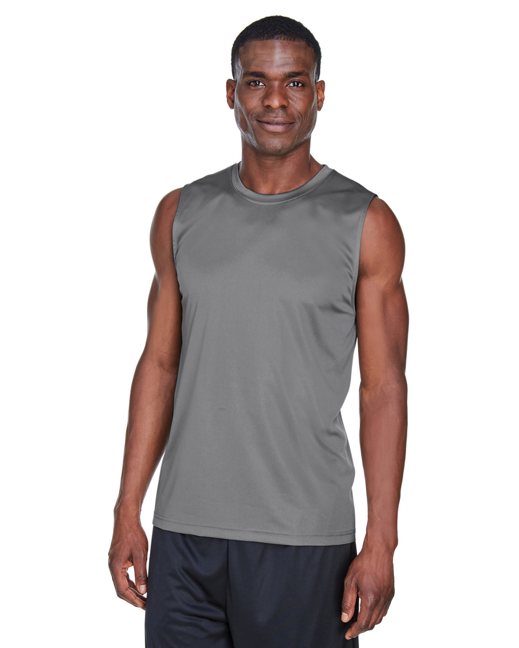 Sport Graphite - TT11M Team 365 Men's Performance Muscle T-Shirt | BlankClothing.ca