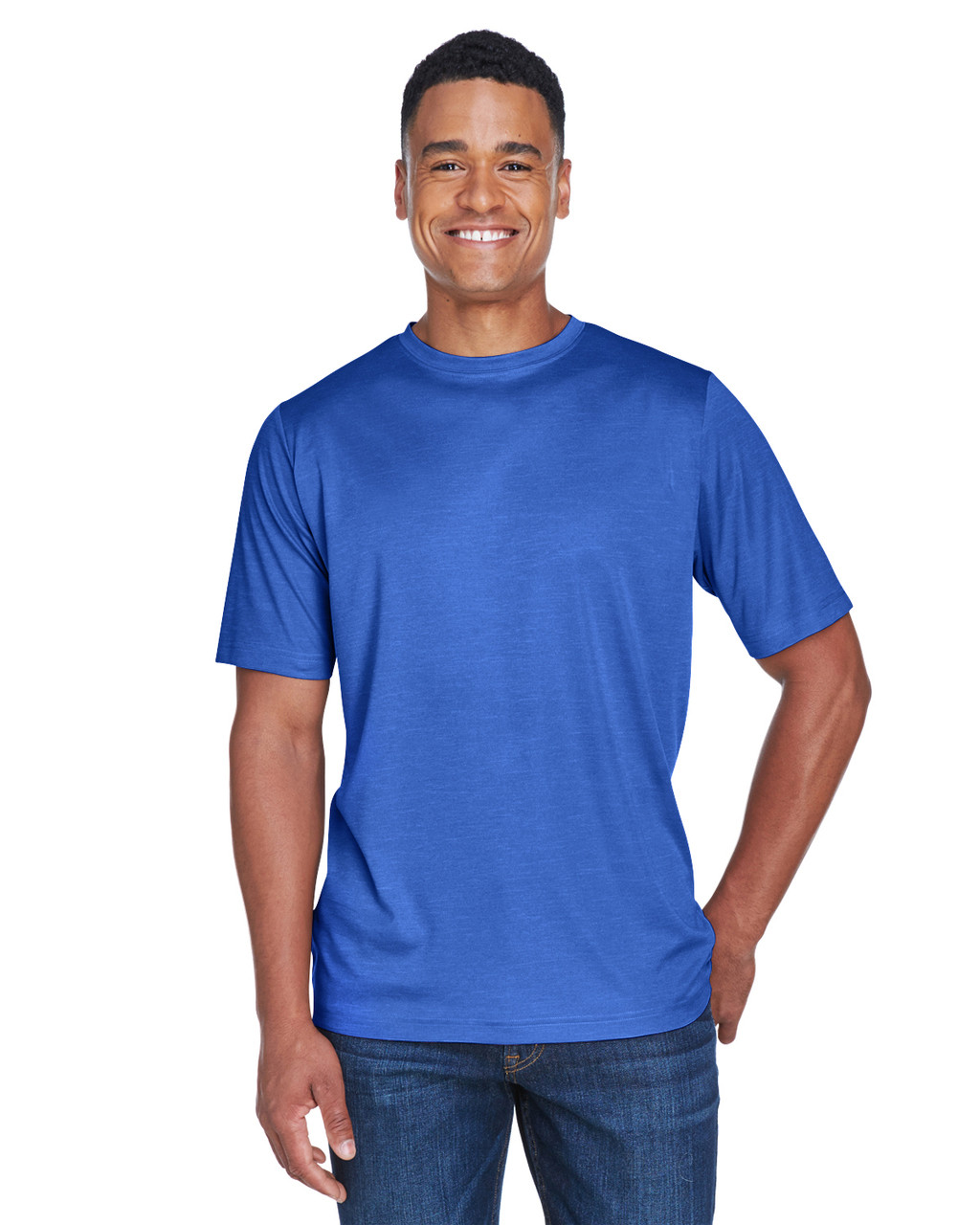 TT11H Team 365 Men's Sonic Heather Performance T-Shirt