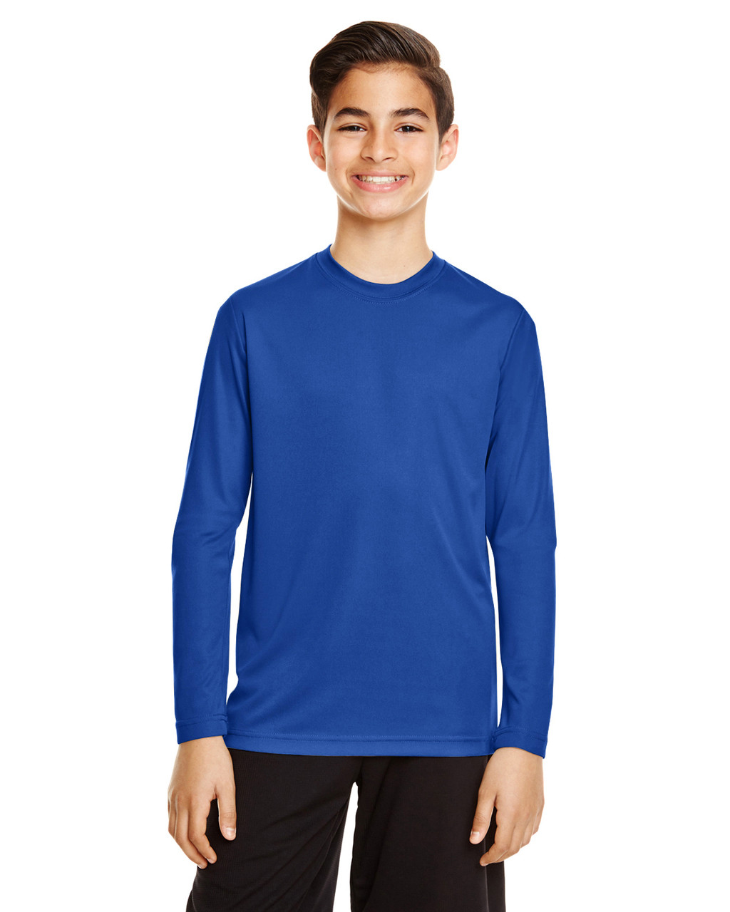 Sport Royal - TT11YL Team365 Youth Zone Performance Long Sleeve T-shirt | BlankClothing.ca