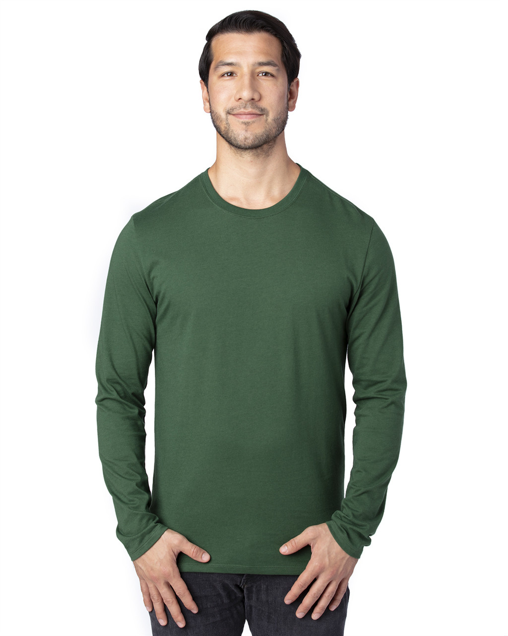 Forest Green - 100LS Threadfast Unisex Ultimate Long-Sleeve T-Shirt | T-shirt.ca