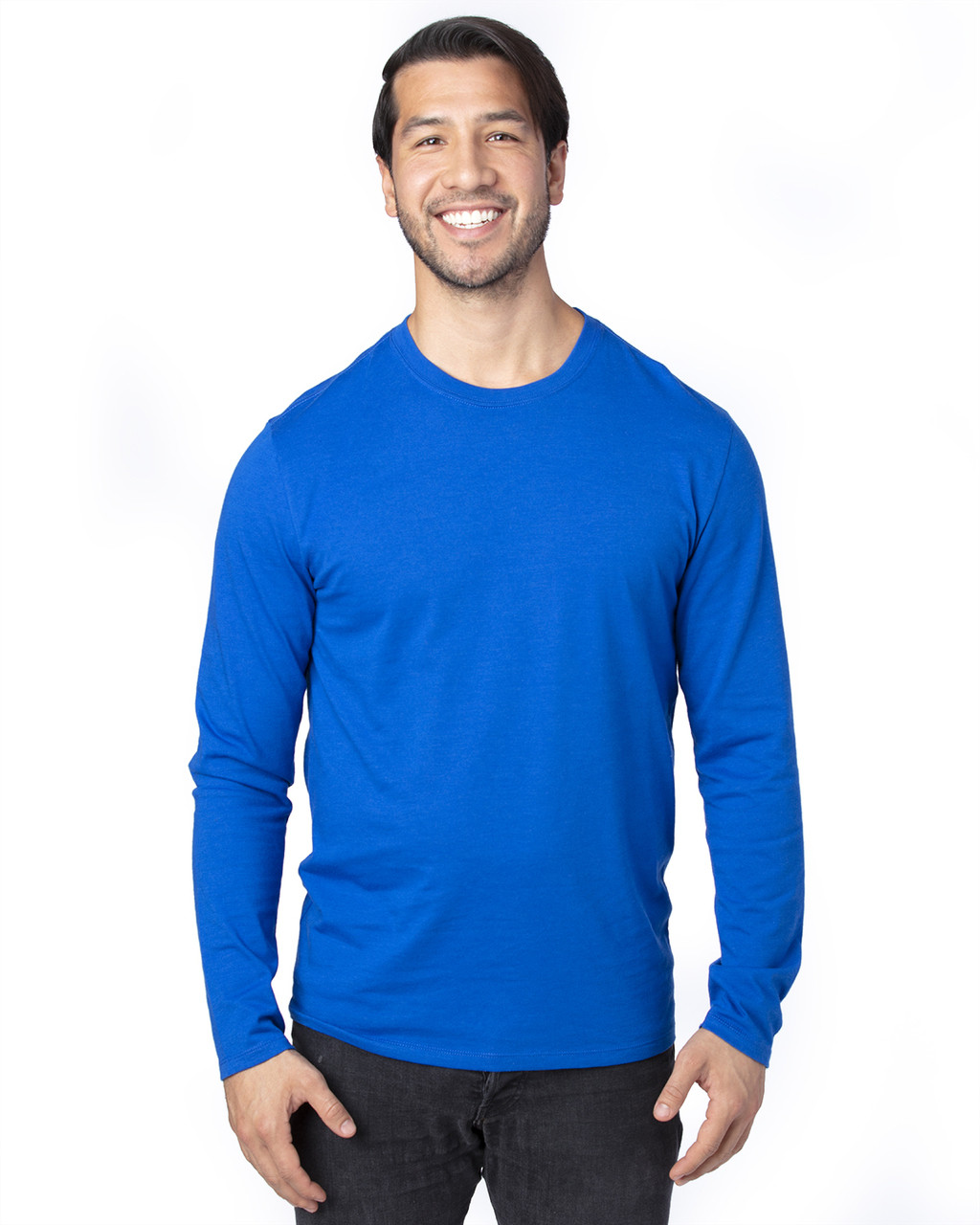 Royal - 100LS Threadfast Unisex Ultimate Long-Sleeve T-Shirt | T-shirt.ca