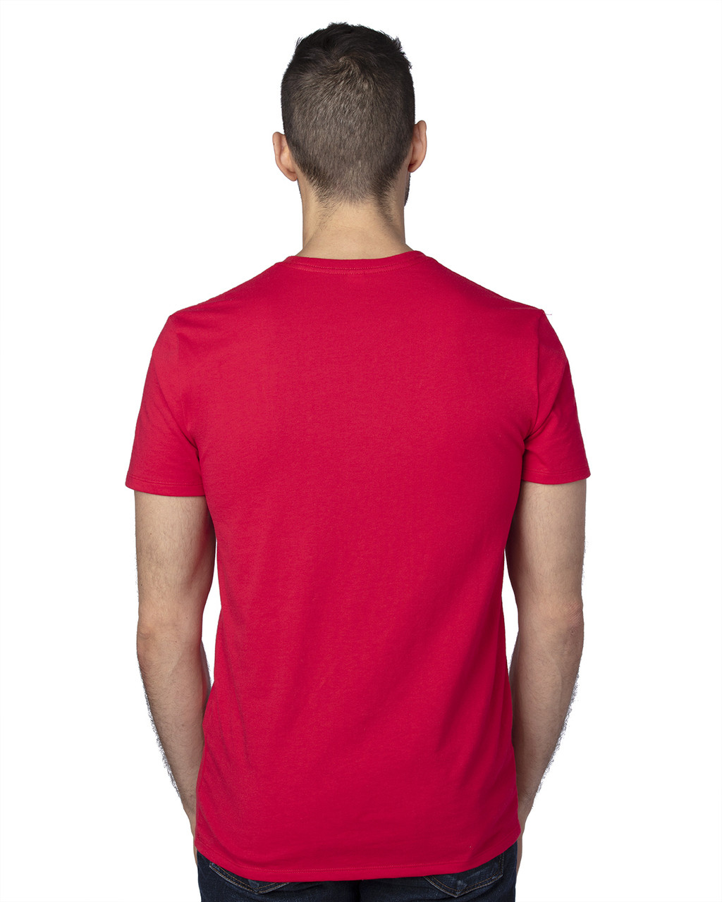 Red- -Back, 100A Threadfast Unisex Ultimate Short-Sleeve T-Shirt   BlankClothing.ca