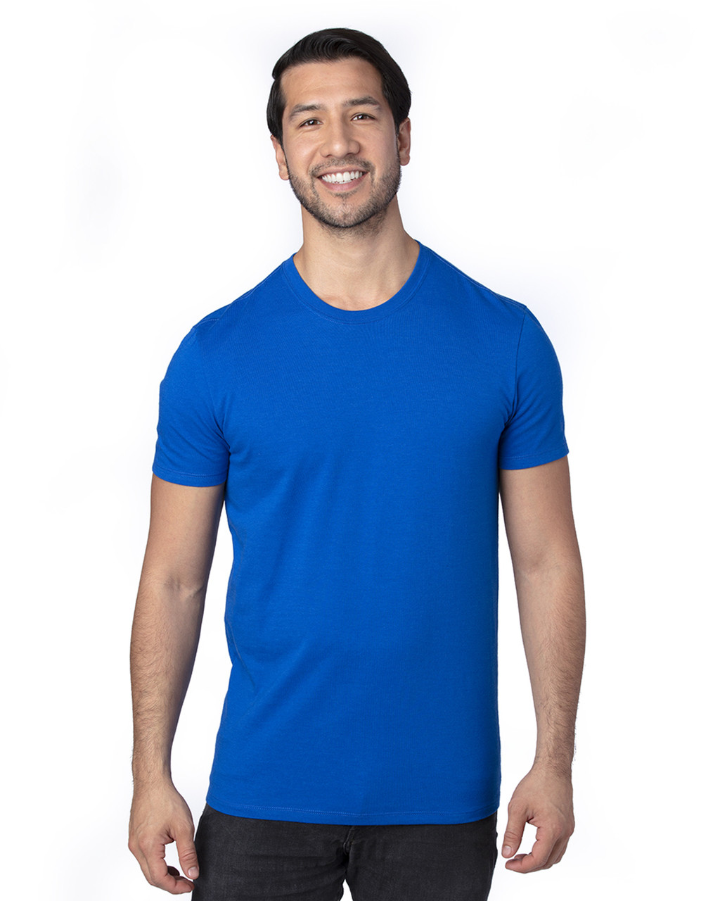 Royal - 100A Threadfast Unisex Ultimate Short-Sleeve T-Shirt | BlankClothing.ca