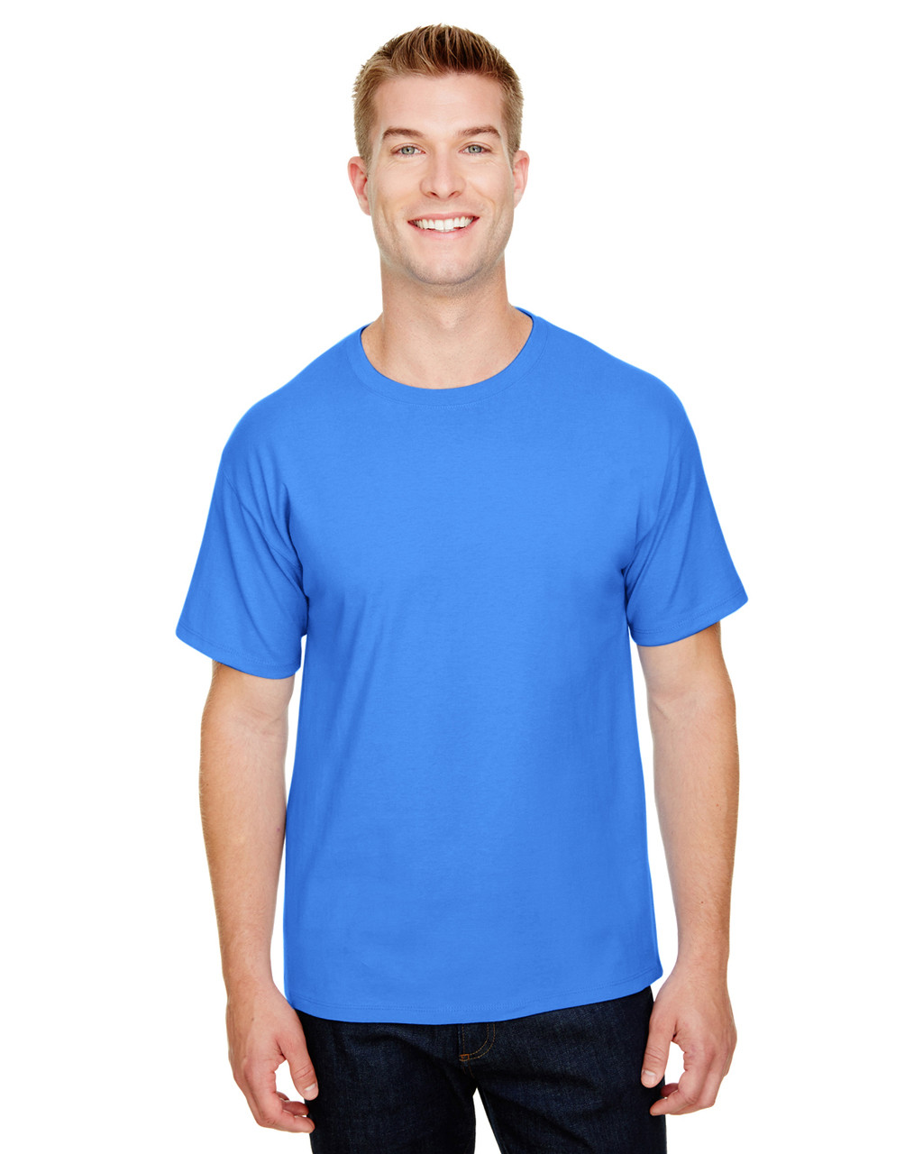 Bluebell Breeze - CP10 Champion Adult Ringspun Cotton T-Shirt   BlankClothing.ca