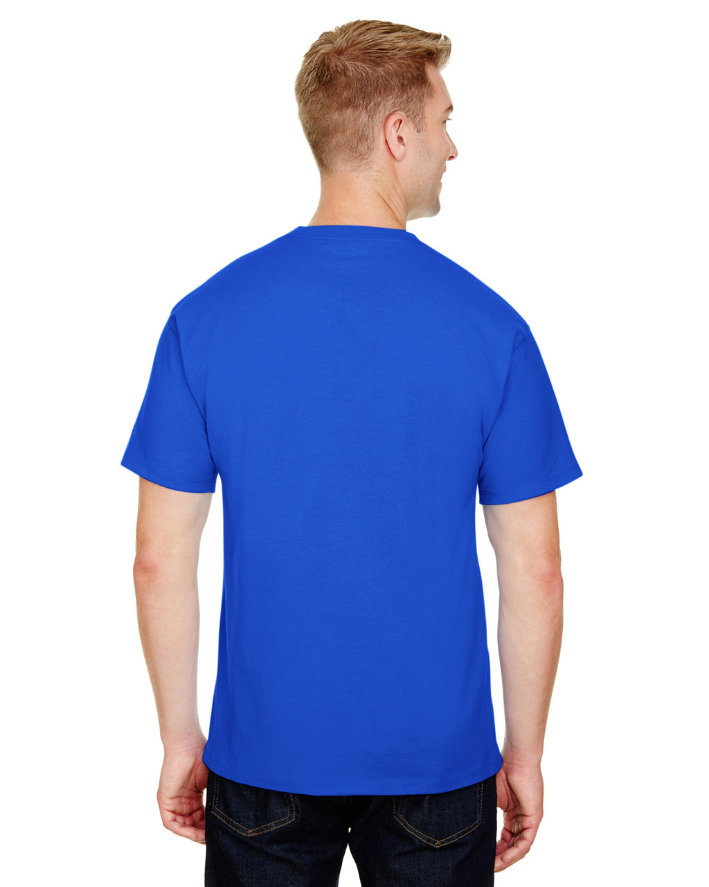 Royal - CP10 Champion Adult Ringspun Cotton T-Shirt | BlankClothing.ca