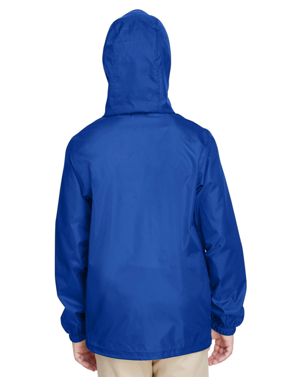 Sport Royal, Back - TT73Y Team 365 Youth Zone Protect Lightweight Jacket  | BlankClothing.ca