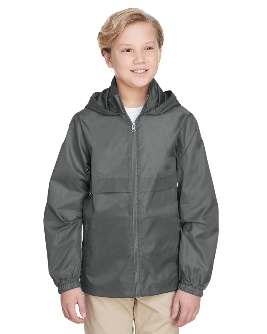 Sport Graphite - TT73Y Team 365 Youth Zone Protect Lightweight Jacket  | BlankClothing.ca