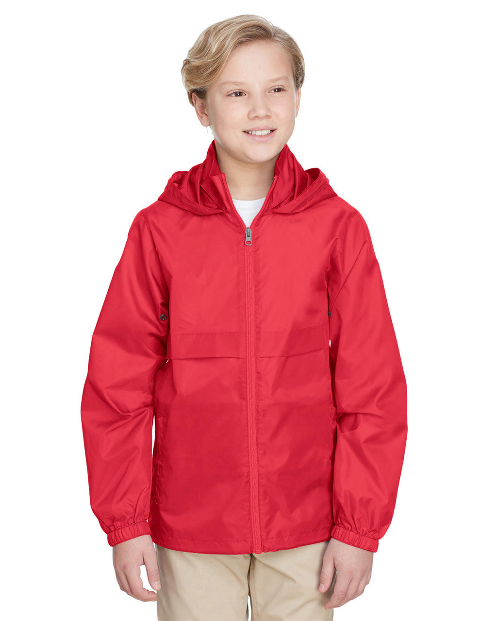 Sport Red - TT73Y Team 365 Youth Zone Protect Lightweight Jacket  | BlankClothing.ca