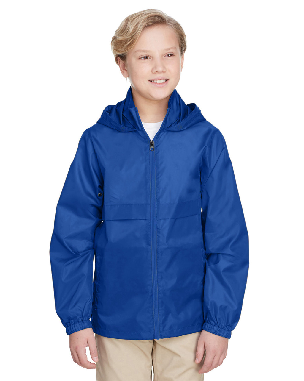 Sport Royal - TT73Y Team 365 Youth Zone Protect Lightweight Jacket  | BlankClothing.ca