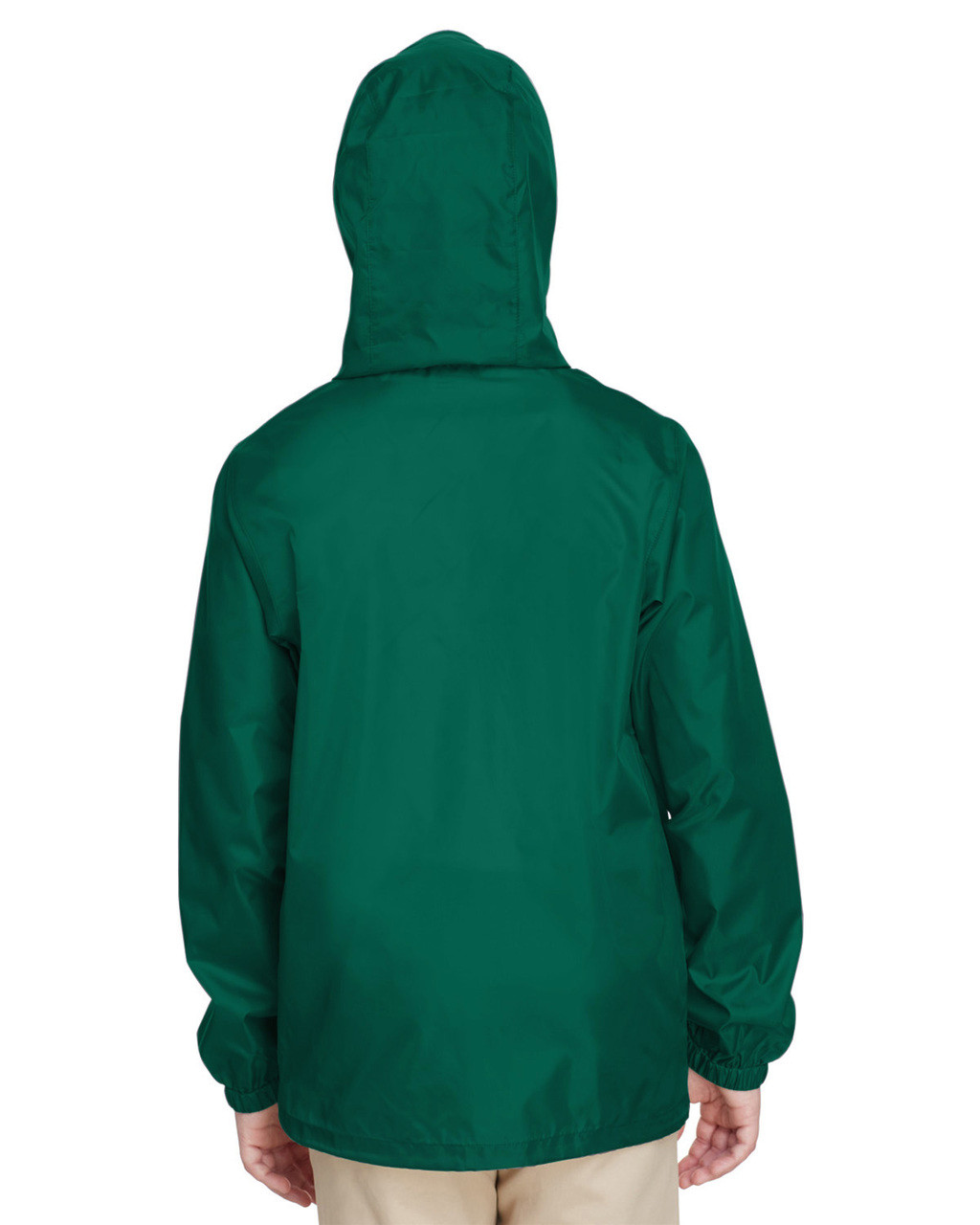 Sport Forest, Back - TT73Y Team 365 Youth Zone Protect Lightweight Jacket  | BlankClothing.ca