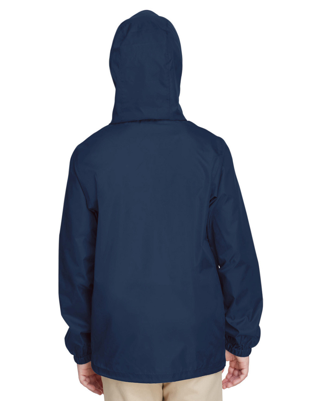 Sport Dark Navy, Back - TT73Y Team 365 Youth Zone Protect Lightweight Jacket  | BlankClothing.ca