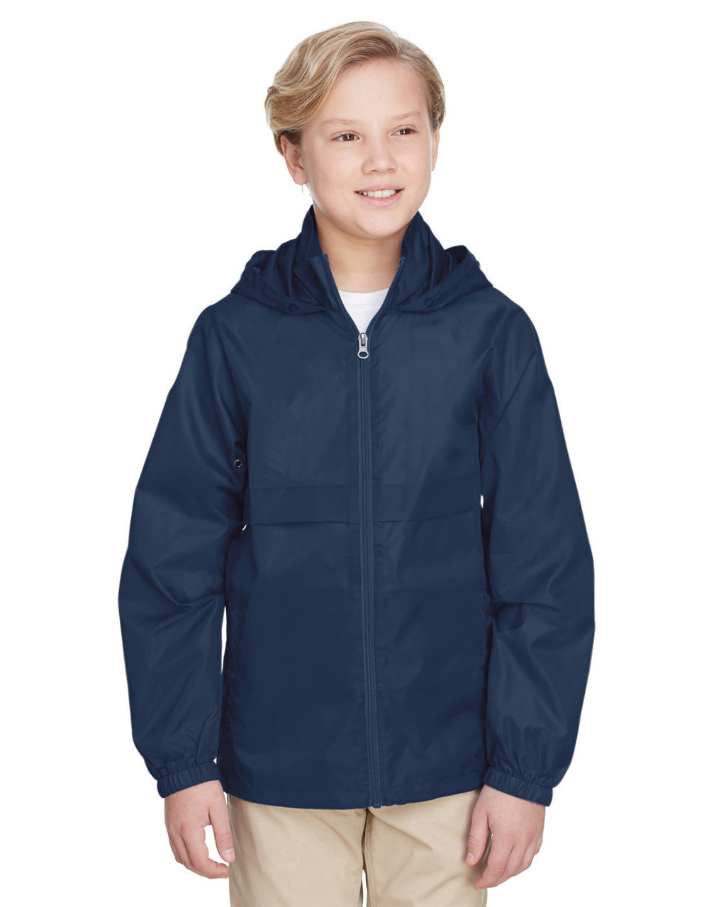 Sport Dark Navy - TT73Y Team 365 Youth Zone Protect Lightweight Jacket  | BlankClothing.ca