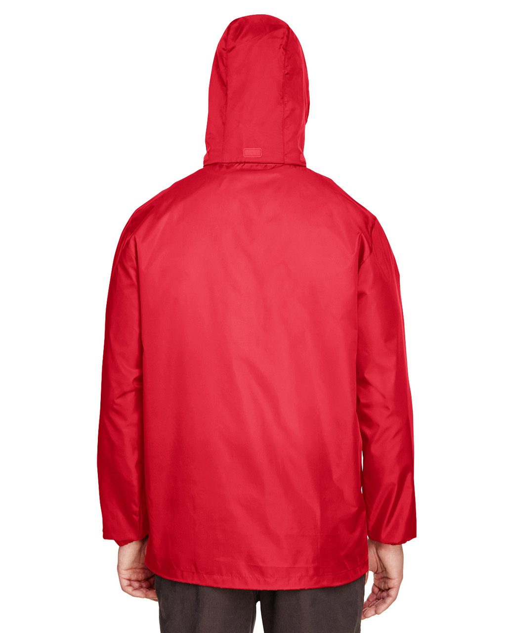 Sport Red, Back - TT73 Team 365 Adult Zone Protect Lightweight Jacket   BlankClothing.ca