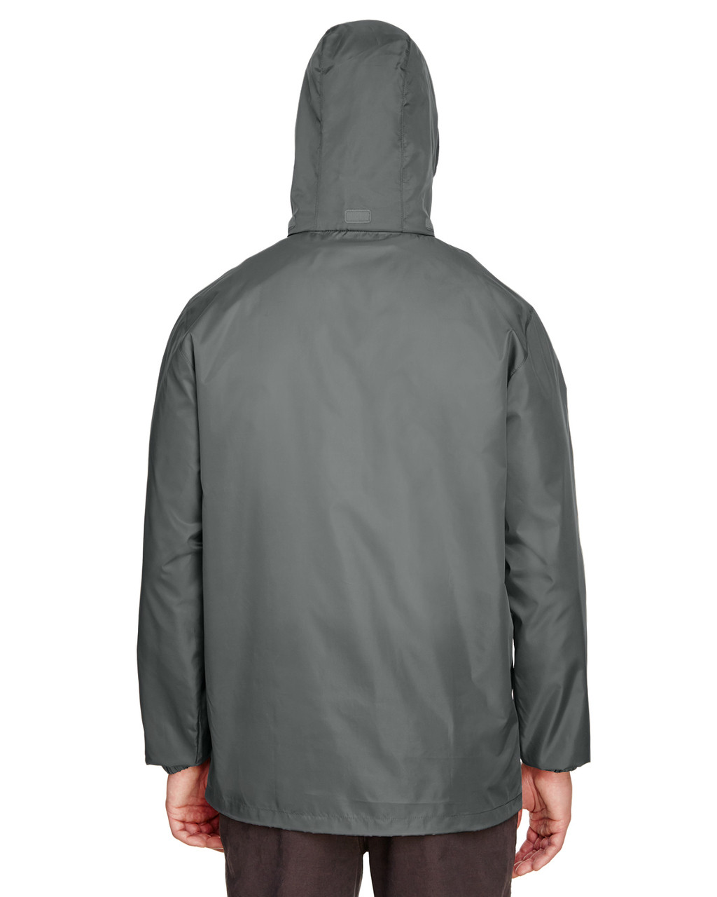 Sport Graphite, Back - TT73 Team 365 Adult Zone Protect Lightweight Jacket   BlankClothing.ca