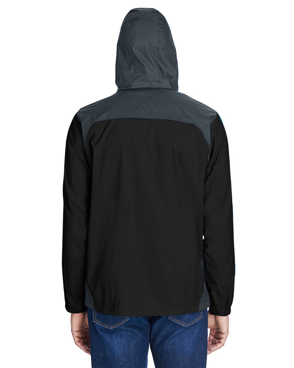 Black/Grill -Back  2015 Columbia Men's Glennaker Lake™ Rain Jacket  | BlankClothing.ca