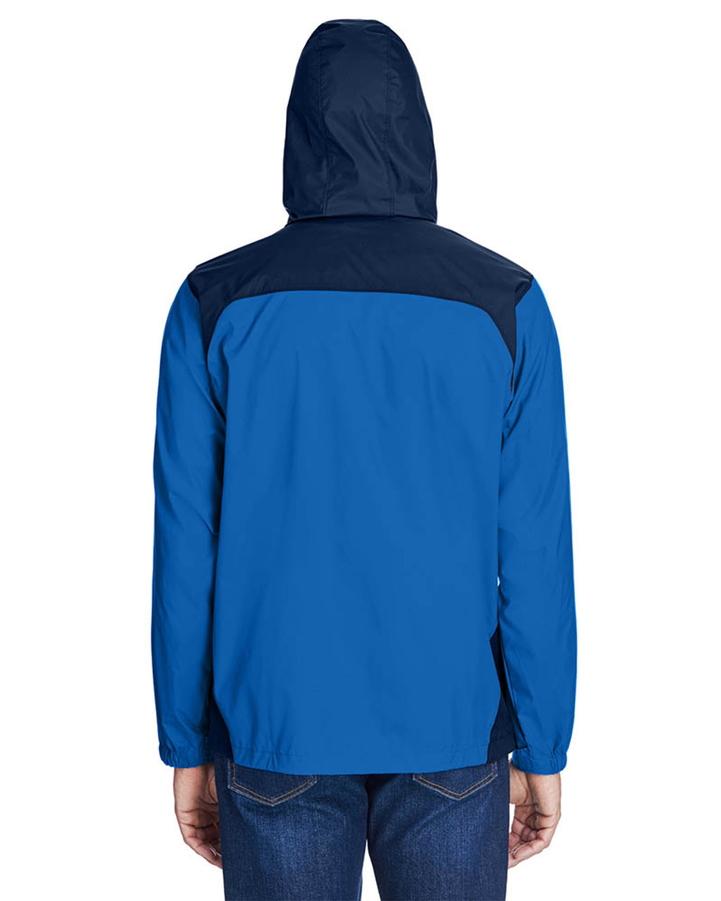 Blue Jay/Navy -Back  2015 Columbia Men's Glennaker Lake™ Rain Jacket  | BlankClothing.ca